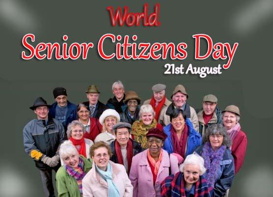 21st August - Senior Citizen Day – Happy World Senior Citizens Day 2019