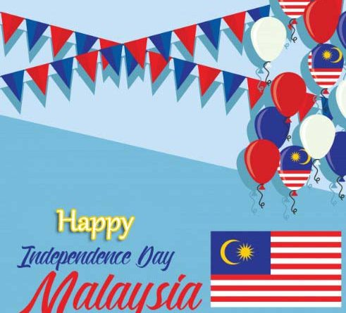 31st August Malaysia National Day - Happy Malaysia Independence Day 2019