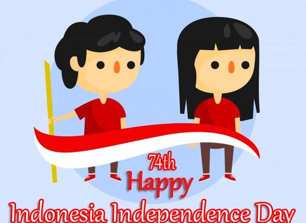 74th Happy Indonesia Independence Day 2019 Picture, Image, Pic, Photo & Wallpaper HD