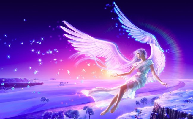 Angel Day Wishes, Messages, Quotes, Greetings, SMS & Text in Picture, Images & Wallpaper