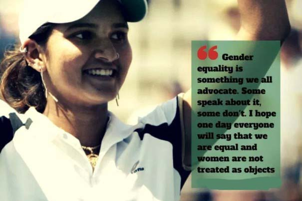 Best Women's Equality Day Quotes by Sania Mirza