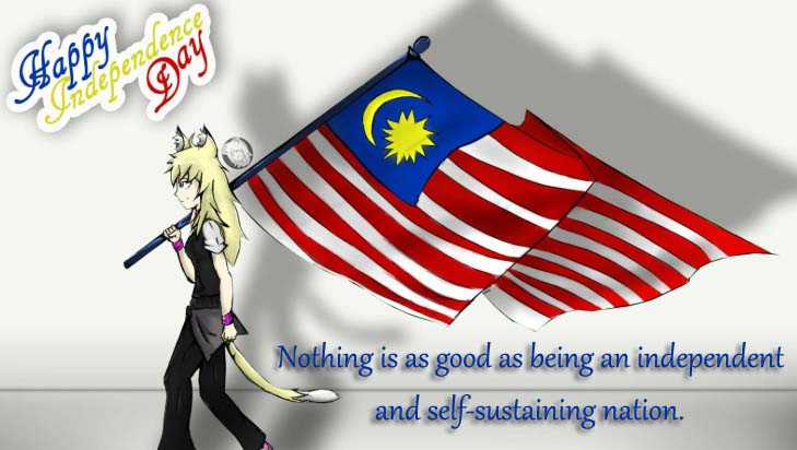 Happy Malaysia Hari Merdeka Wishes, Messages, Greetings, SMS, photos, Images, Pictures & Wallpaper