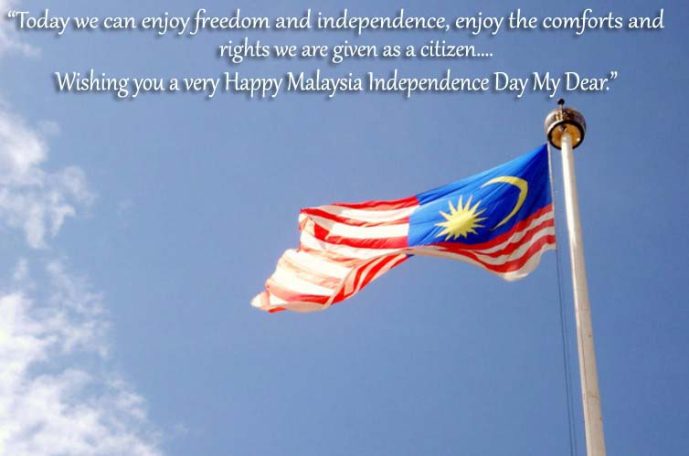 Happy Malaysia Independence Day Wishes, Messages, SMS, Greetings, Quotes, Text, Photos, Pic, Images, Pictures & HD Wallpaper