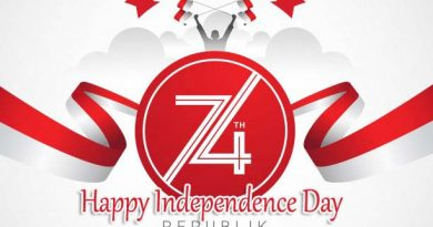 Indonesia Independence Day Greetings Card HD Download 2019