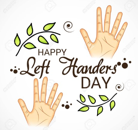 Left Handers Day 2019 Images