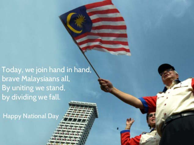 Malaysia National Day 2019 Wishes, Quotes, Messages, Greetings, Text, SMS in Image, Picture & Photos