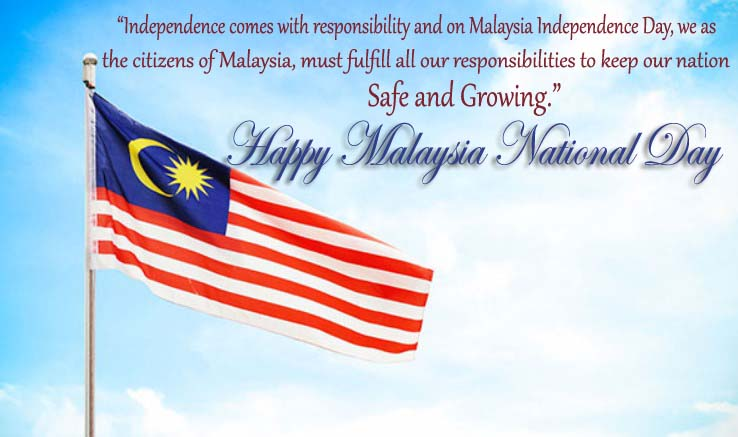 Malaysia National Day Wishes, Messages, Quotes, SMS, Greetings, Text, Picture, Image, Photo, Pic & Wallpaper HD