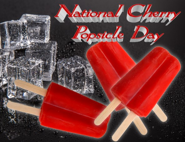 NATIONAL CHERRY POPSICLE DAY