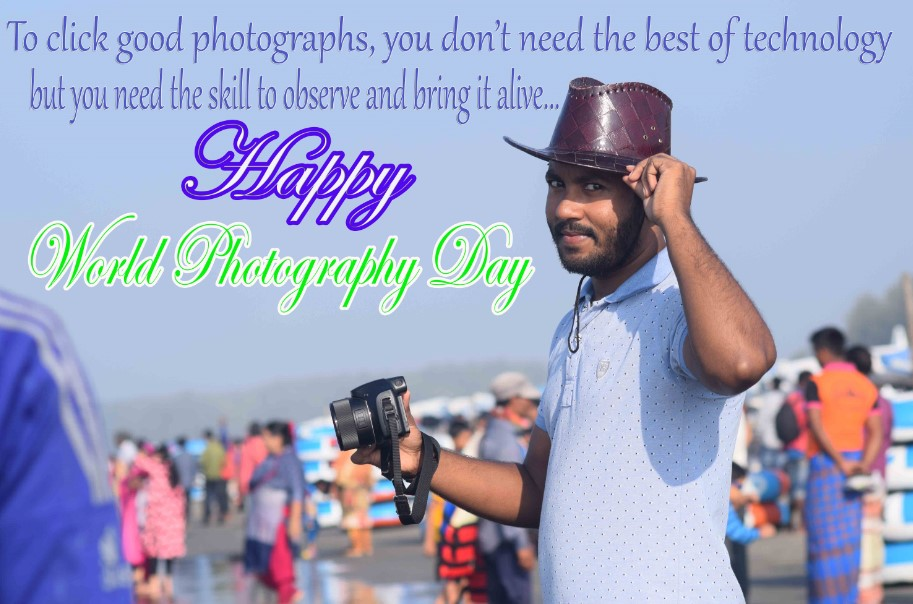 World Photography Day 2019 Images - Wishes, Messages, Greetings, SMS, Text