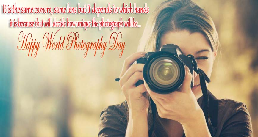 World Photography Day Wishes