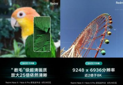 Xiaomi Redmi Note 8 Pro will be able to take 9248x6936 pixel photos