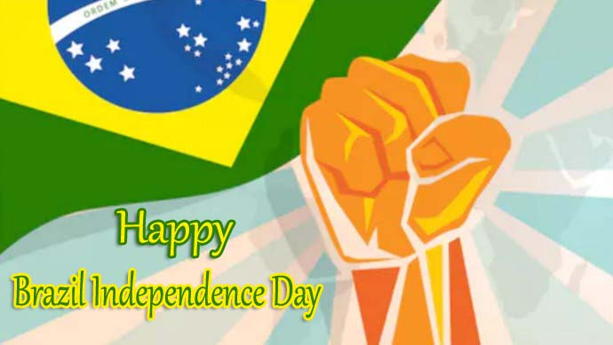 197th Happy Brazil Independence Day 2019