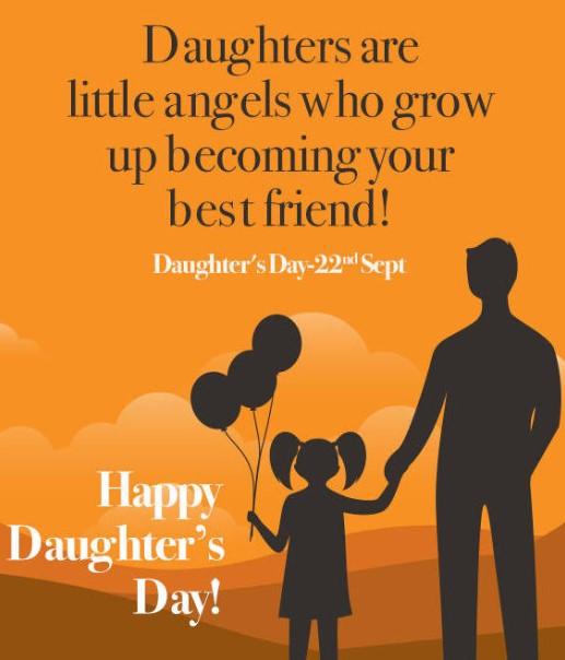 Daughters Day 2019 Greetings Card
