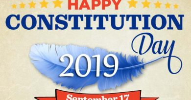 Happy Constitution Day 2019