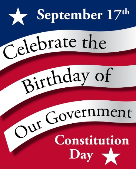 Happy Constitution Day 2019 Greetings Card