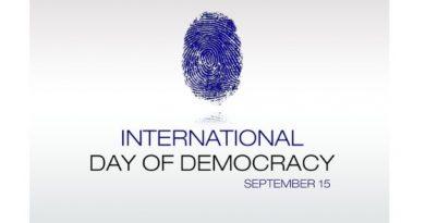 International Democracy Day 2019
