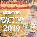 International Peace Day Wishes, Messages, Greetings, Text SMS, Slogans, Saying, Status & Quotes 2019