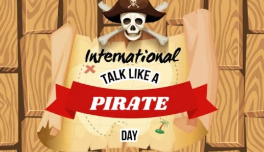 International Talk Like A Pirate Day 2019