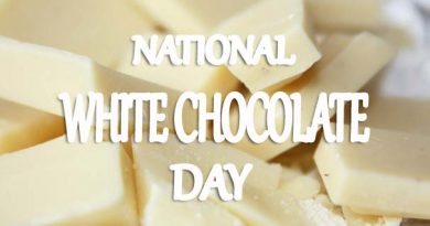 National White Chocolate Day