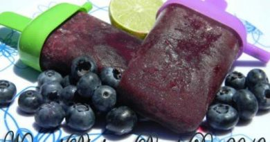 September 2 - National Blueberry Popsicle Day 2019