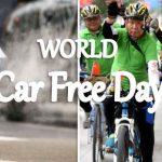 September 22 - World Car Free Day 2019