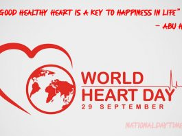 World Heart Day Quotes 2021