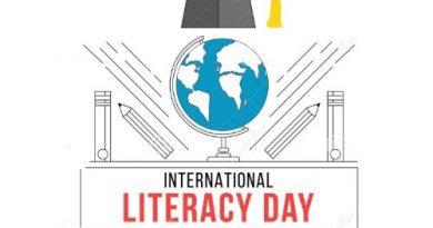 World Literacy Day – Happy International Literacy Day 8th September, 2019