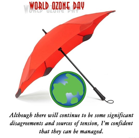 World Ozone Day Wishes, Quotes, Slogans, Messages, Saying, Greetings, Text, SMS & Status 2019