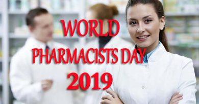 World Pharmacists Day 2019