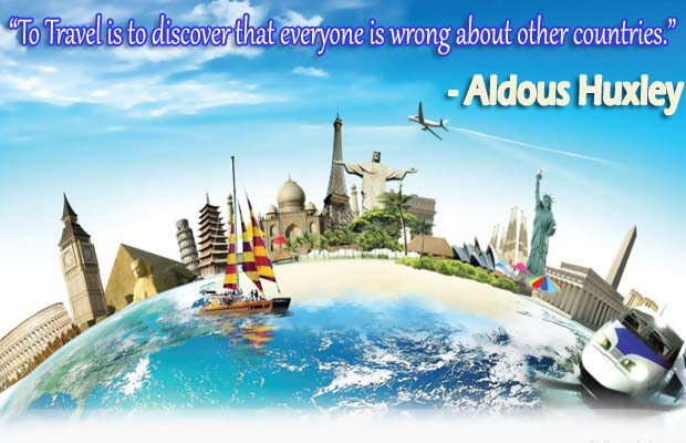 World Tourism Day Wishes, Quotes, Messages, Greetings, SMS, Theme, Slogans, Sayings & Status 2019