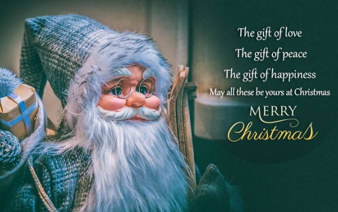 Happy Christmas Day 2019 Wishes, Messages, Quotes, SMS, Saying & Status