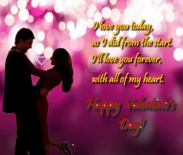Romantic Valentines Day Wishes & Messages for GF, BF & Best Friend Images