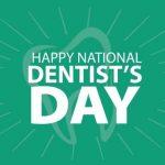 national dentist day 2020