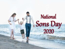 National Sons Day 2020