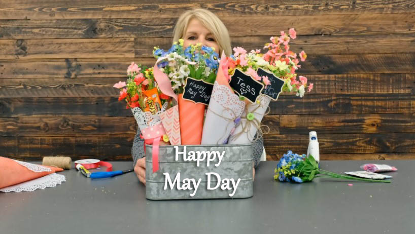 Happy May Day Baskets Photos