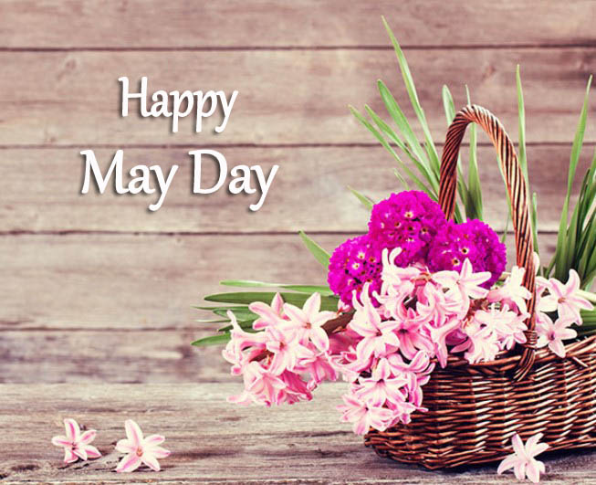 Happy May Day Baskets Pic