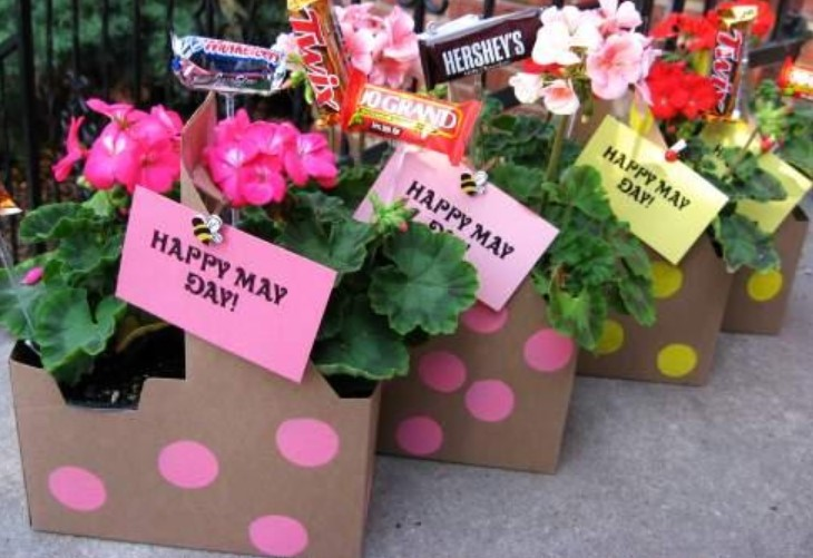 May Day Baskets Picture