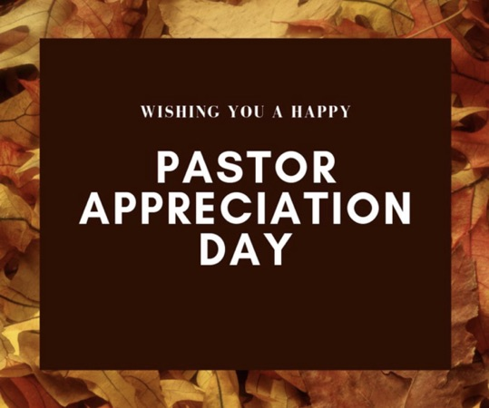 Pastor Appreciation Day 2021